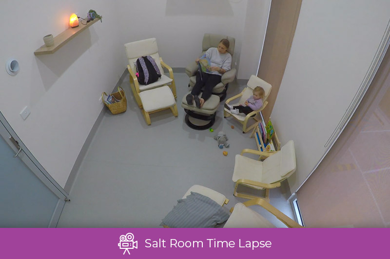 Your Body Hub - Salt Room Time Lapse (30s)