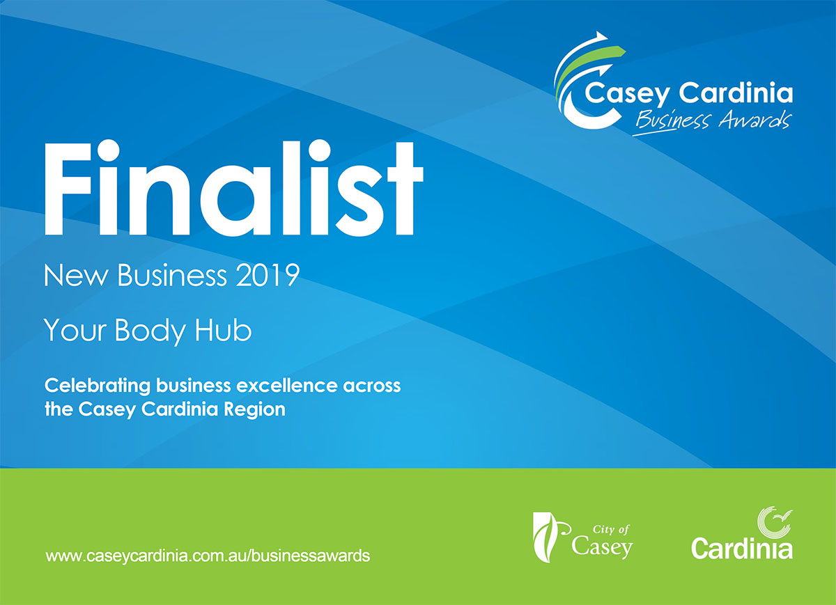 Casey Cardinia Business Awards 2019 - Your Body Hub