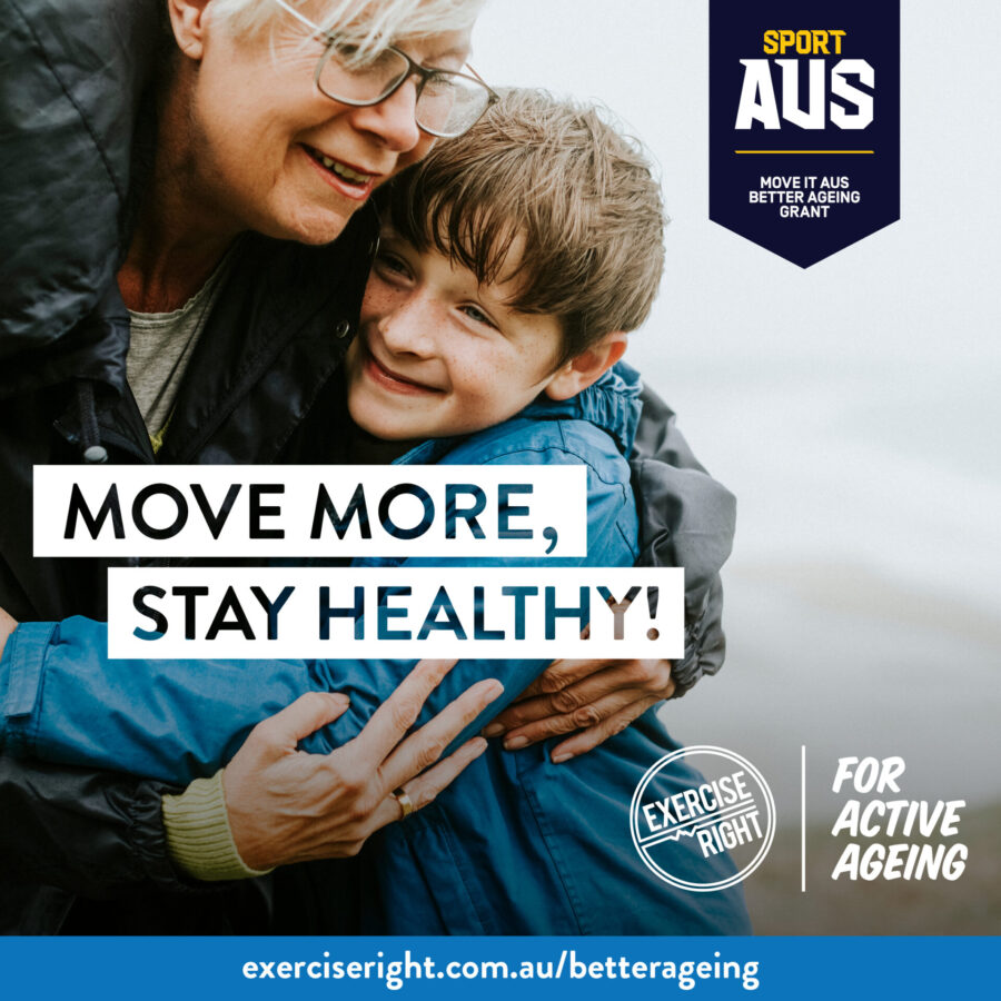 Active Ageing Grant by Your Body Hub in Officer